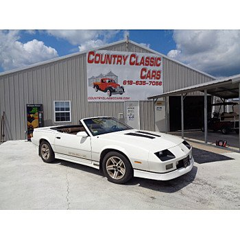 1987 Chevrolet Camaro for sale 101180092