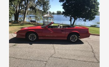 1987 Chevrolet Camaro Convertible for sale 101208130
