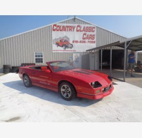 1987 Chevrolet Camaro Convertible for sale 101349075