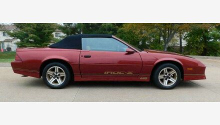 1987 Chevrolet Camaro Convertible for sale 101379485