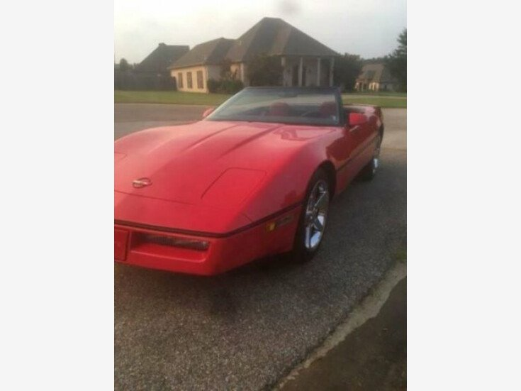 1987 Chevrolet Corvette Convertible for sale 100894366