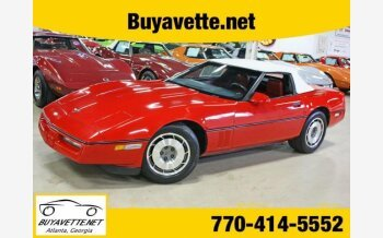 1987 Chevrolet Corvette Convertible for sale 100971396