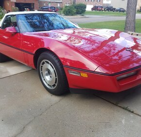 1987 Chevrolet Corvette Convertible for sale 101334093