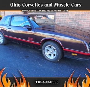 1987 Chevrolet Monte Carlo SS for sale 100020689