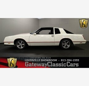 1987 Chevrolet Monte Carlo SS for sale 100963538
