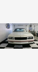 1987 Chevrolet Monte Carlo SS for sale 101108002
