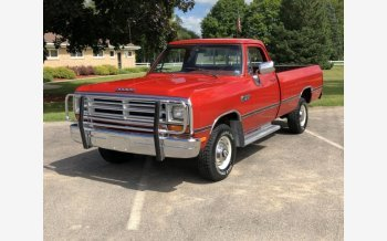 1987 Dodge D/W Truck for sale 101193490