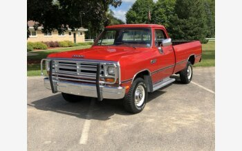 1987 Dodge D/W Truck for sale 101222499
