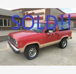 1987 Ford Bronco II for sale 101030863