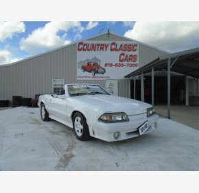 1987 Ford Mustang GT Convertible for sale 101373079