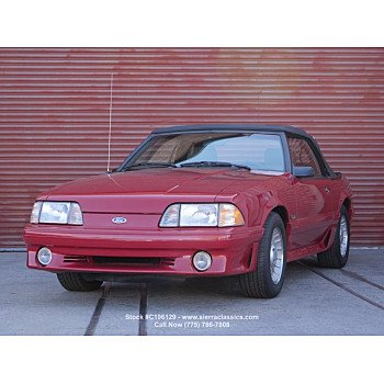 1987 Ford Mustang GT Convertible for sale 101494602