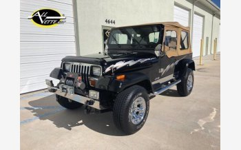 1987 Jeep Wrangler 4WD for sale 100929107