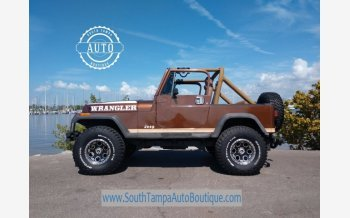 1987 Jeep Wrangler 4WD Sport for sale 101112544