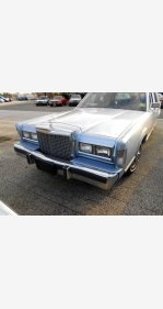 1987 Lincoln Town Car for sale 101185684