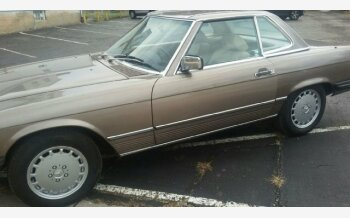 1987 Mercedes-Benz 560SL for sale 101068200