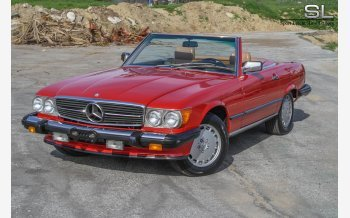 1987 Mercedes-Benz 560SL for sale 101087699