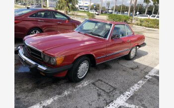 1987 Mercedes-Benz 560SL for sale 101101455