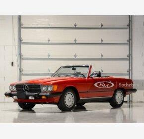 1987 Mercedes-Benz 560SL for sale 101325448