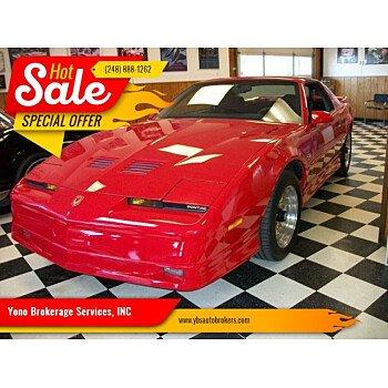 1987 Pontiac Firebird Trans Am Coupe for sale 101159870