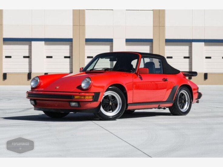 1987 Porsche 911 Carrera Cabriolet for sale near Temecula ...