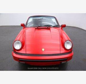 1987 Porsche 911 Cabriolet for sale 101396278