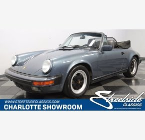 1987 Porsche 911 Carrera Cabriolet for sale 101413427