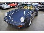 1987 Porsche 911 Carrera Cabriolet for sale 101478229
