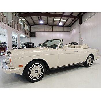 1987 Rolls-Royce Corniche for sale 101230045