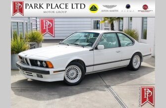 1988 BMW 635CSi Coupe for sale 101465685
