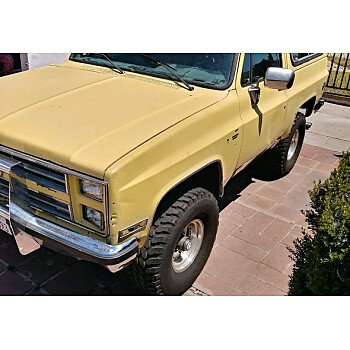 1988 Chevrolet Blazer 4WD for sale 100974851