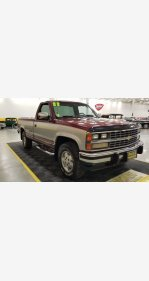 1988 Chevrolet Silverado 1500 4x4 Regular Cab for sale 101344810