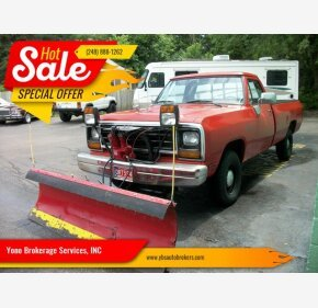 1988 Dodge D/W Truck for sale 101354569
