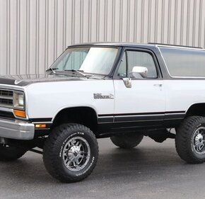 1988 Dodge Ramcharger 4WD for sale 101415892
