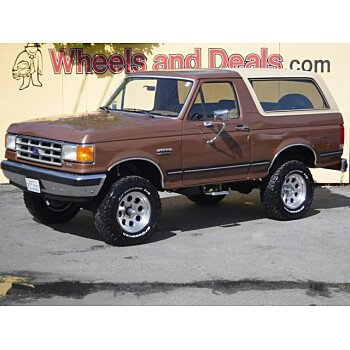 1988 Ford Bronco XLT for sale 101432006