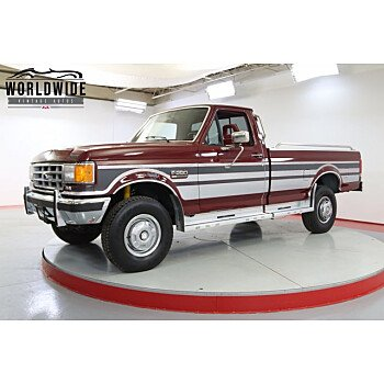 1988 Ford F250 4x4 Regular Cab for sale 101588692