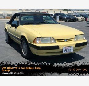 1988 Ford Mustang LX V8 Convertible for sale 101187903