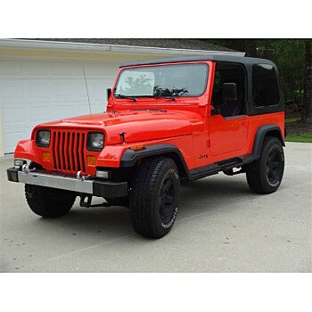1988 Jeep Wrangler 4WD Laredo for sale 100999051