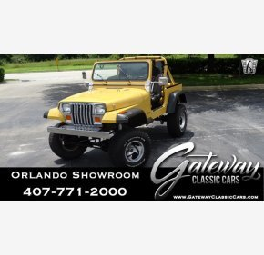 1988 Jeep Wrangler 4WD for sale 101189544