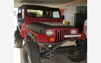 1988 Jeep Wrangler 4WD for sale 101344780