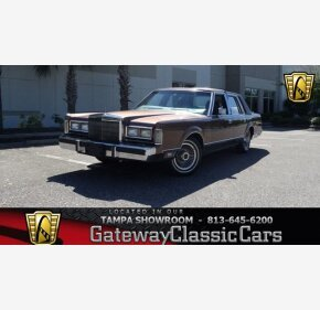 1988 Lincoln Town Car Signature for sale 101420806