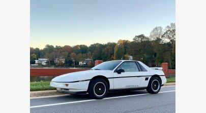 1988 Pontiac Fiero for sale 101064599