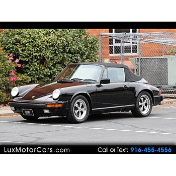1988 Porsche 911 Carrera Cabriolet for sale 101070211