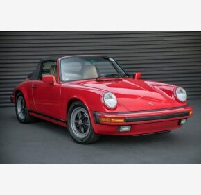 1988 Porsche 911 Carrera Cabriolet for sale 101076427