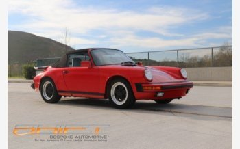 1988 Porsche 911 Carrera Cabriolet for sale 101082707