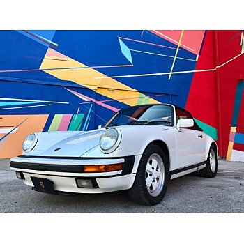 1988 Porsche 911 Carrera Cabriolet for sale 101215741