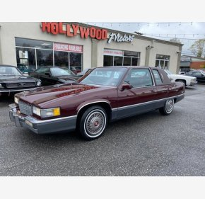 1989 Cadillac Fleetwood Coupe for sale 101322184