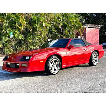 1989 Chevrolet Camaro IROC-Z Convertible for sale 101430277