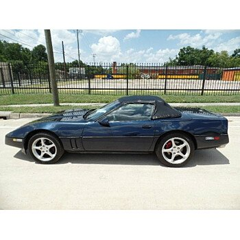1989 Chevrolet Corvette Convertible for sale 101201306