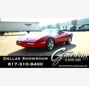 1989 Chevrolet Corvette Convertible for sale 101220017