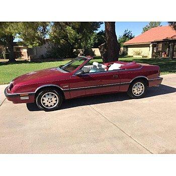 1989 Chrysler LeBaron for sale 101393518